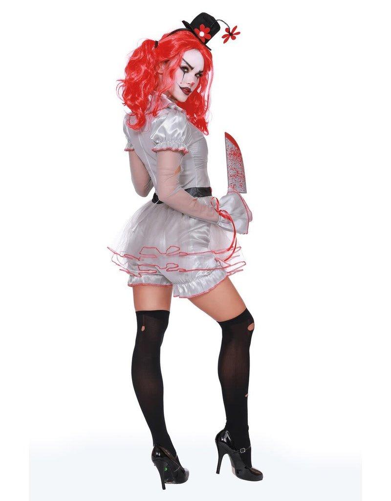 Dream Girl Women's Wicked Clown Costume