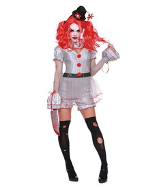 Dream Girl Women's Wicked Clown Costume