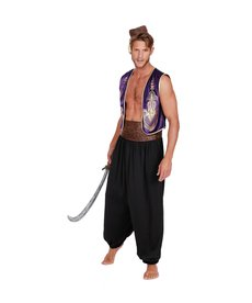 Dream Girl Men's Arabian Prince Costume
