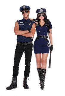 Dream Girl Women's Officer Pat U. Down Costume