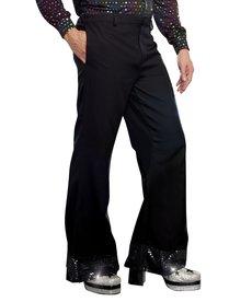 Dream Girl Men's Black Disco Pants