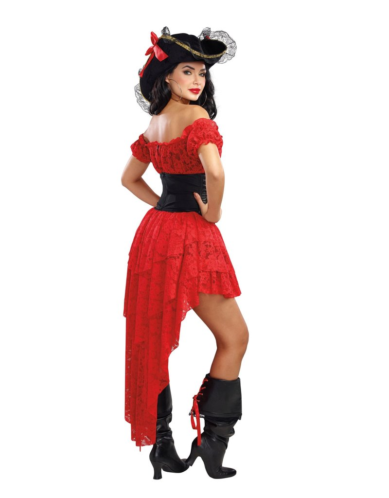 Dream Girl Women's Pirate Wench Costume