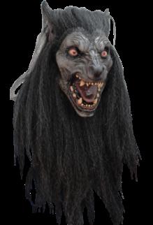 Black Moon Latex Mask
