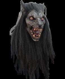 Black Moon Werewolf Mask