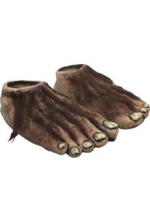 Werewolf Latex Feet