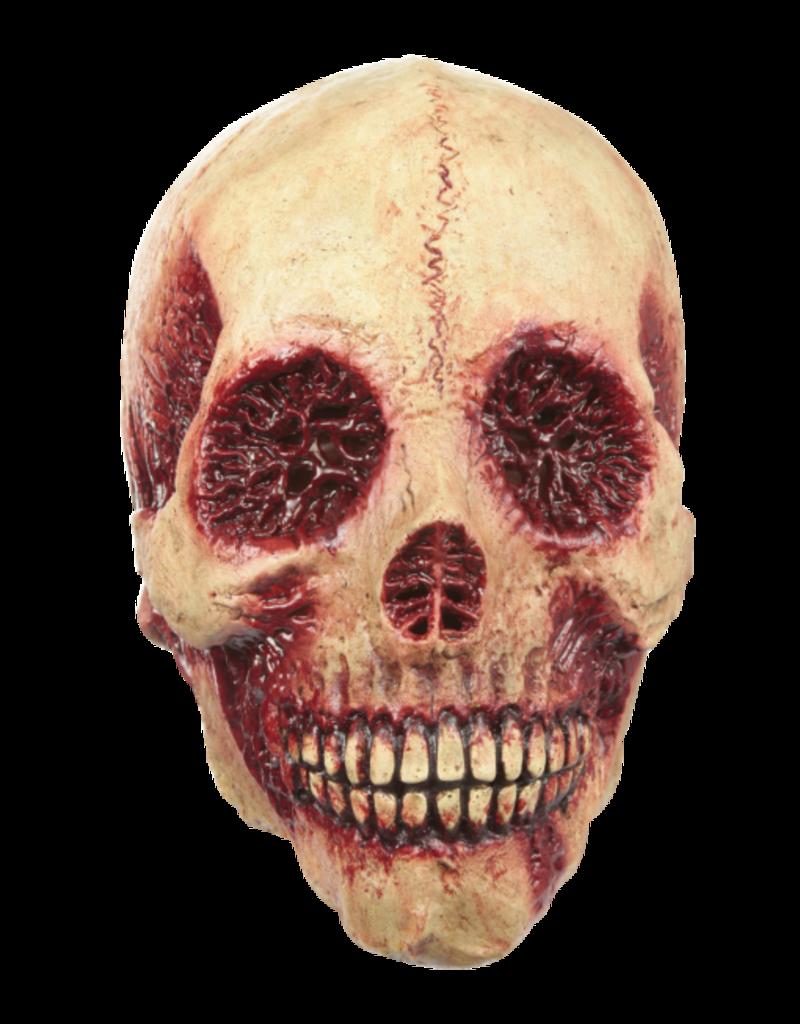 Bloody Skull Latex Mask