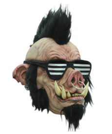 Boar Punk Latex Mask
