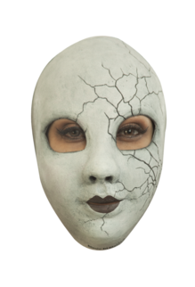 Creepy Doll Face: Latex Mask