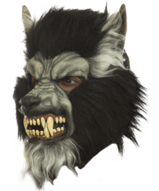 Gray Howling Mask