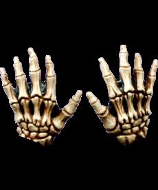 Kids Junior Skeleton Hands: Tan