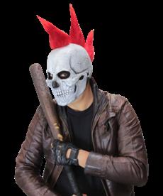 Punk Skull Latex Mask