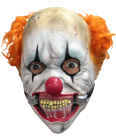 Kids Smiley Jr. Clown Latex Mask