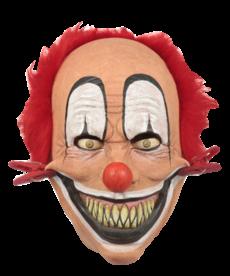 Tweezer Clown Latex Mask