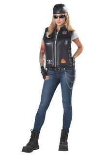California Costumes Unisex Bada** Biker Vest Costume