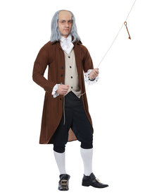 California Costumes Adult Benjamin Franklin Costume