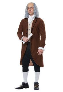 California Costumes Men's Adult Benjamin Franklin Costume