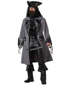 California Costumes Men's Blackbeard, The Pirate Costume