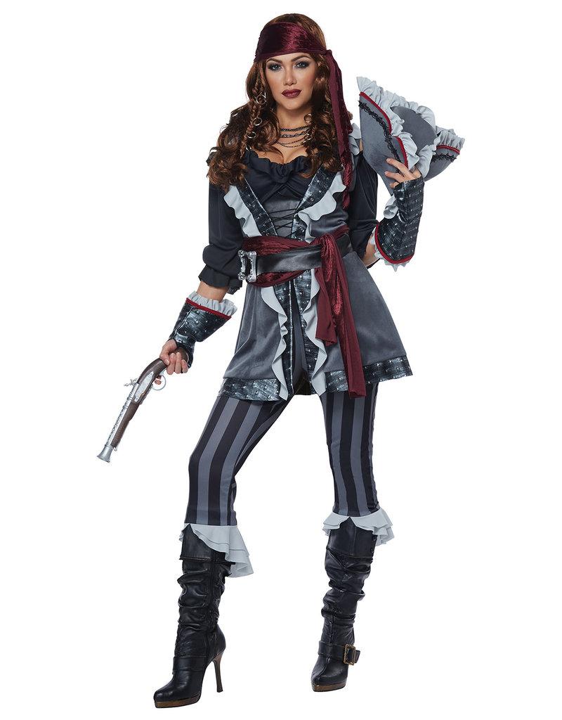 California Costumes Women's Captain Blackheart Costume