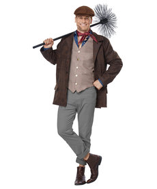 California Costumes Adult Chimney Sweep Costume