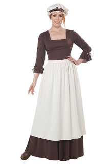 California Costumes Women's Colonial Village Woman Costumes