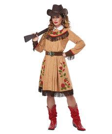 California Costumes Women's Annie Oakley / Cowgirl Costume