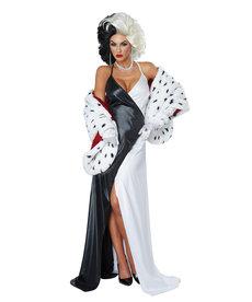 California Costumes Women's Cruel Diva Costume