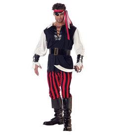 California Costumes Men's Cutthroat Pirate Costume