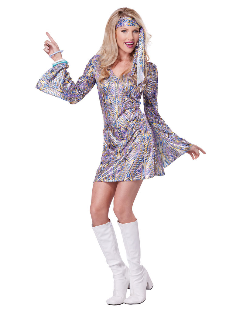 California Costumes Women's Disco Sensation Costume