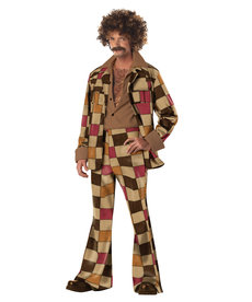 California Costumes Adult Disco Sleazeball Costume