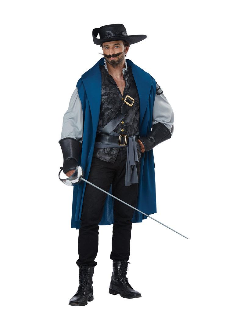 California Costumes Men's Deluxe Musketeer Costume
