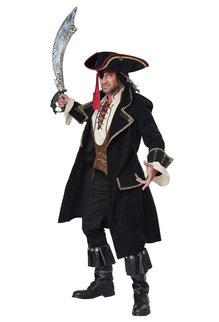 California Costumes Men's Deluxe Pirate Captain Costume