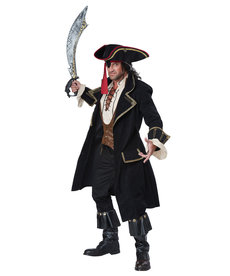 California Costumes Men's Deluxe Pirate Captain Costume