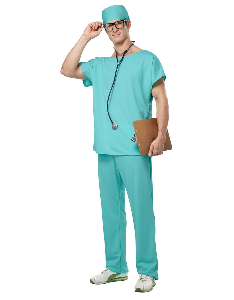 California Costumes Unisex Doctor Scrubs Costume