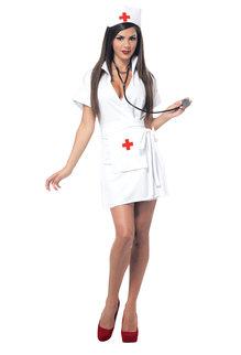 California Costumes Women's Fashion Nurse Costume