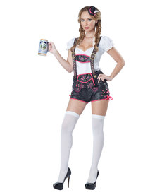 California Costumes Women's Flirty Lederhosen Costume
