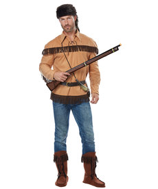 California Costumes Adult Frontier Man / Davy Crockett Costume