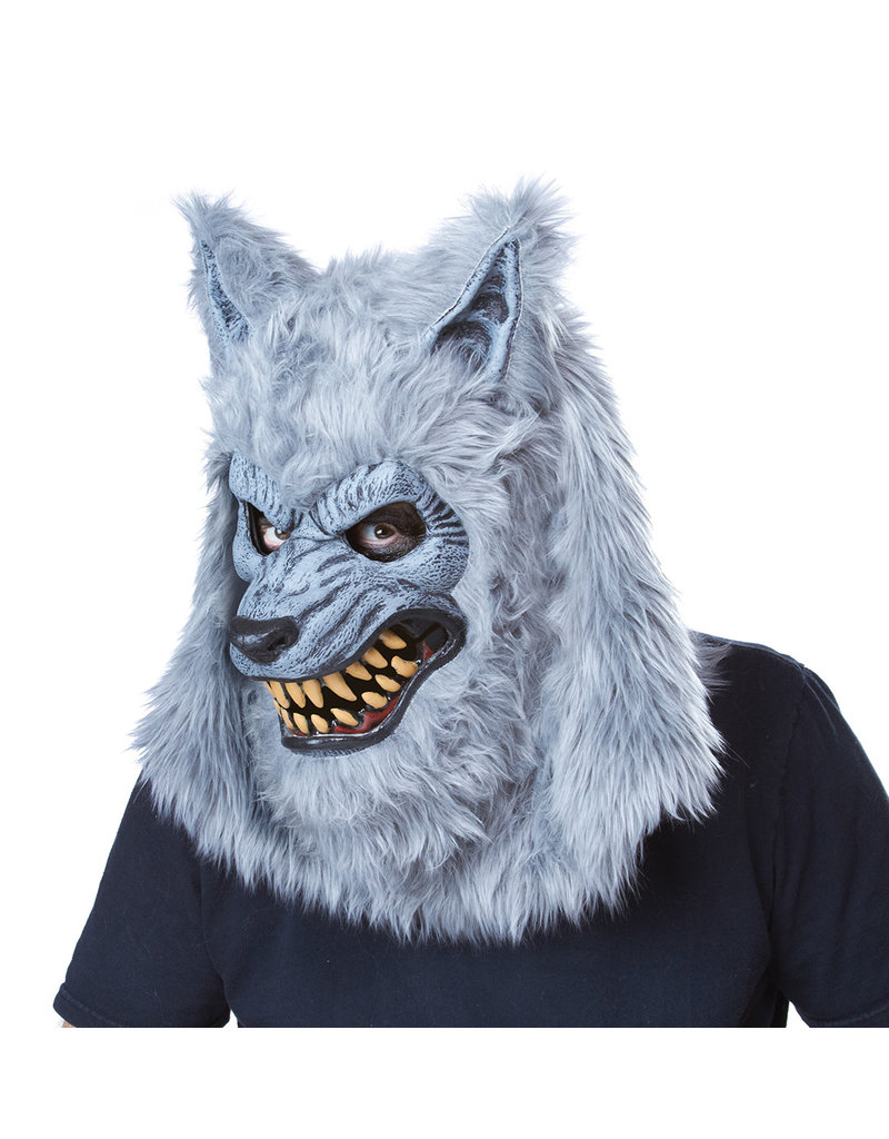 California Costumes Men's Adult Gray Lycan Werewolf Costume