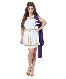 California Costumes Women's Grecian Toga Dress Costume
