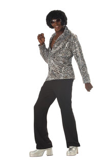 California Costumes Men's Groovy Disco Shirt Costume