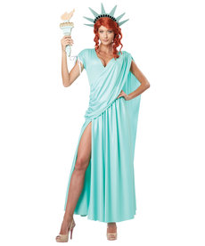 California Costumes Women's Lady Liberty Costume