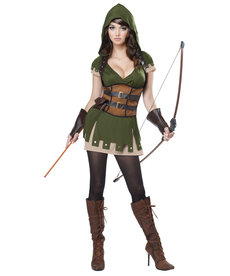 California Costumes Women's Lady Robin Hood Costume