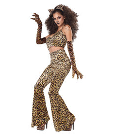 California Costumes Women's Leopard Pant Set Costume