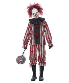 California Costumes Adult Nightmare Clown Costume
