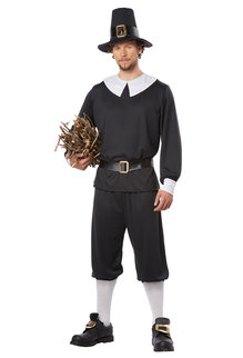 California Costumes Men's Pilgrim Man Costume