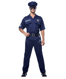California Costumes Men's Police Costume