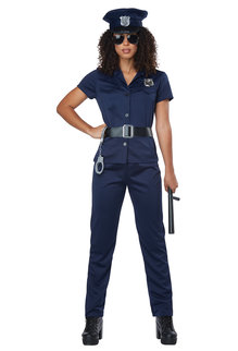 California Costumes Women's Police Woman Costume