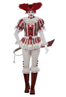 California Costumes Women's Sadistic Clown Costume