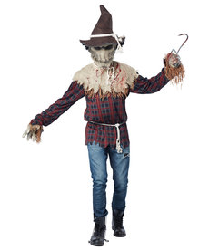 California Costumes Men's Sadistic Scarecrow Costume