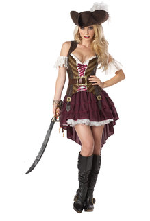 California Costumes Women's Sexy Swashbuckler Costume