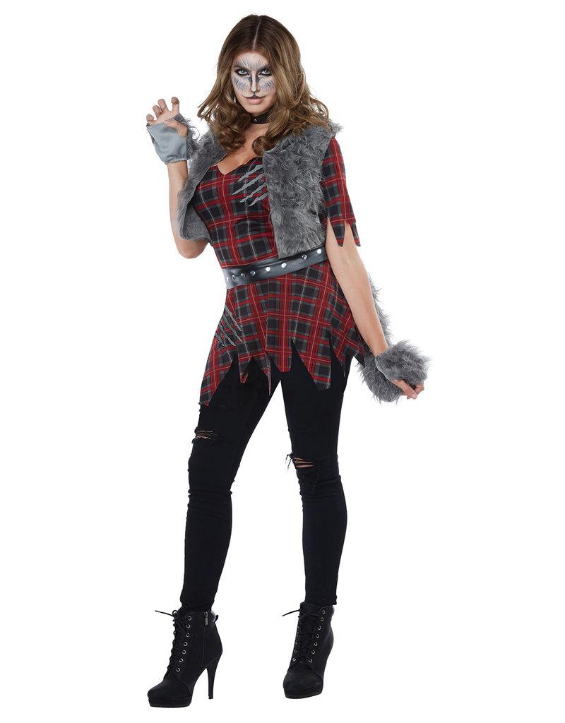 California Costumes Women's She-Wolf Costume